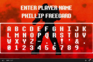 OFFICIAL MILITANT #36 PHILLIP FREEGARD - SHREDIT CARDS