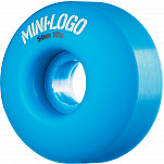 Mini Logo Wheel C-cut 54mm 101A Blue 4pk