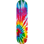 Mini Logo Small Bomb Skateboard Deck 188 Tie Dye - 7.88 x 31.67