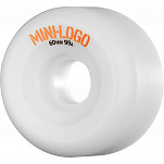 Mini Logo A-cut Wheel 60mm 99a White 4pk
