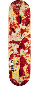Mini Logo Small Bomb Skateboard Deck 249 Pizza - 8.5 x 32.08