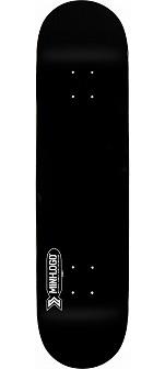 Mini Logo Small Bomb Skateboard Deck 249 Black - 8.5 x 32.08