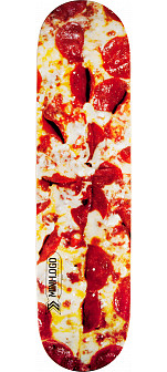 Mini Logo Small Bomb Skateboard Deck 181 Pizza - 8.5 x 33.5