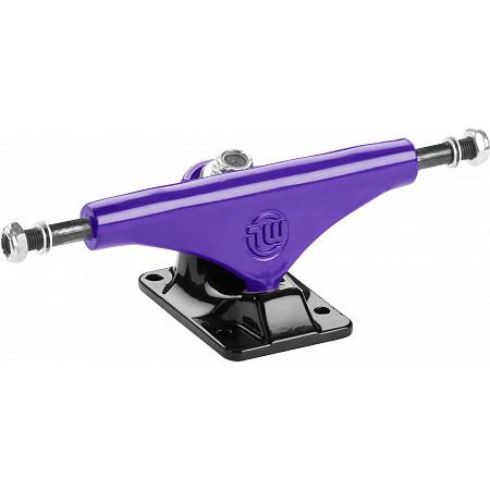 """Mini Logo 8.38"""" Trucks -Split Purple/Black (Set of 2)"""